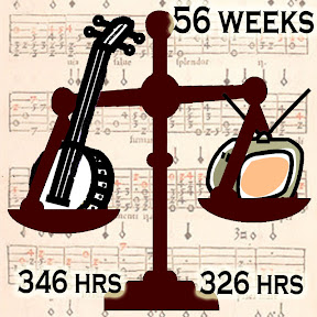 Banjo 346 hrs, TV 326 hours