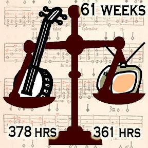 Banjo 378 hrs, TV 361 hours