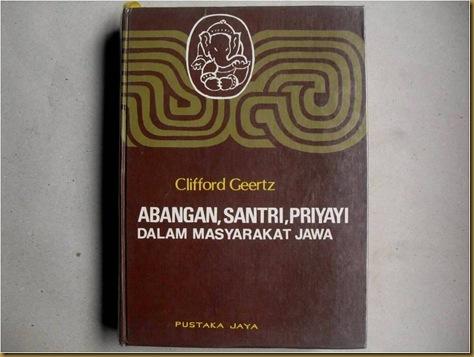 Buku Abangan Santri Priyayi dalam Masyarakat Jawa