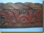 Hiasan dinding ukiran nogo manten - tengah