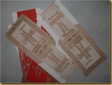 Kertas rokok Ondomas - old indonesian cigarette paper