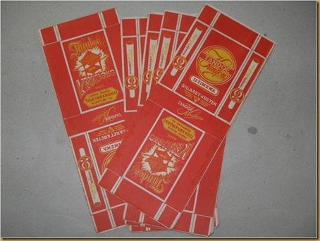 Kertas rokok Tandoe Kentjono - old cigarette paper