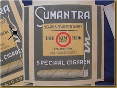 Bungkus rokok Sumatra - collection of old smoking rolling papers