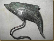 Dolphin statue | Antique bronze statue | Patung Kuno kuningan | Patung Antik