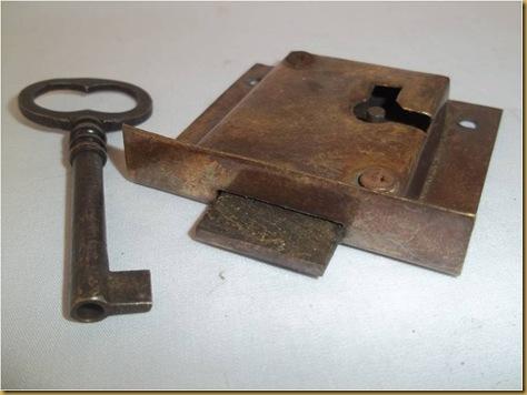 Kunci almari jadul