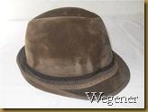 Topi Fedora Wegener coklat - kanan