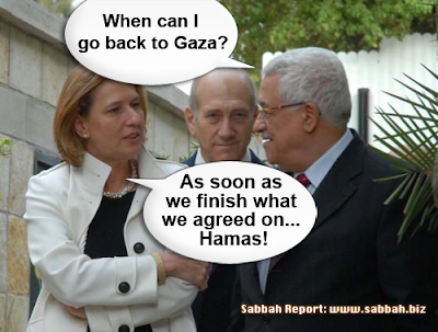 Wikileaks shocker: Did Abbas know in advance about the devastating blitz on his countrymen in Gaza?