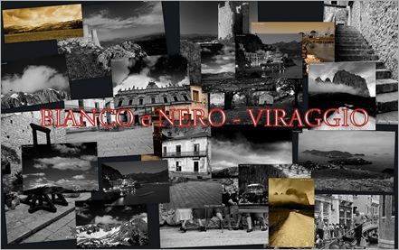 GALLERIA  BIANCO e NERO  - VIRAGGIO