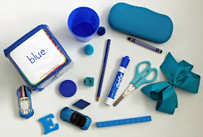 Blue Education Cube