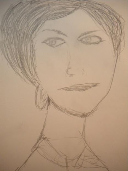 Coco Chanel Sketch