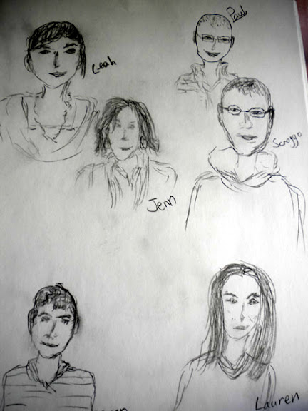 Sketch of my friends