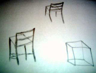 Day 4 Image of Chairs and A Cube