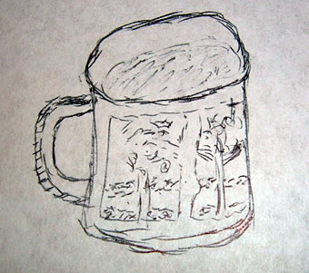 Practice Drawing - mug day 11