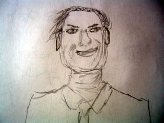 Sketch of Linus Pauling