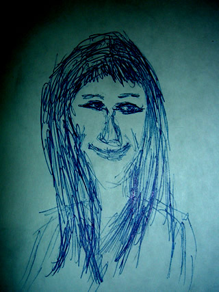 Sketch of Hannah Montana