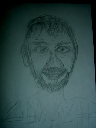 Sketch of Bob Villa