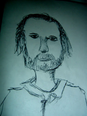 Sketch of Bonnie Prince Billy
