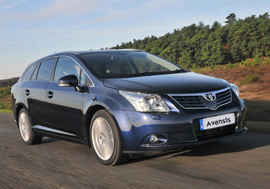 Toyota Avensis Black Car Wallpaper