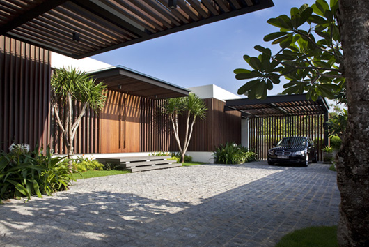 Luxury House Design Decorating Courtyard Ideas - Home Gallery Design
