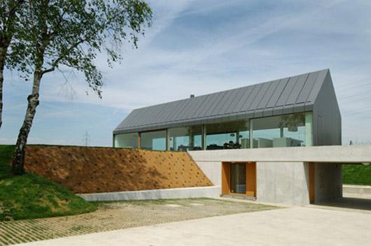 countryside home landscape design exterior