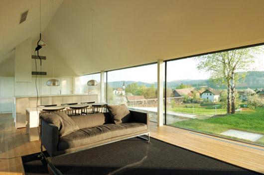architecture home landscape design living room