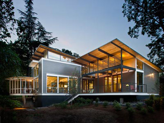 best modern glass home design