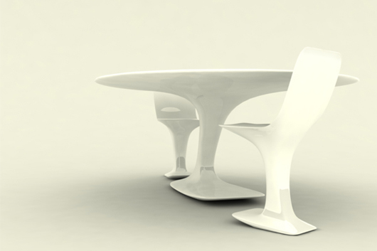 table and chairs design interior furniture