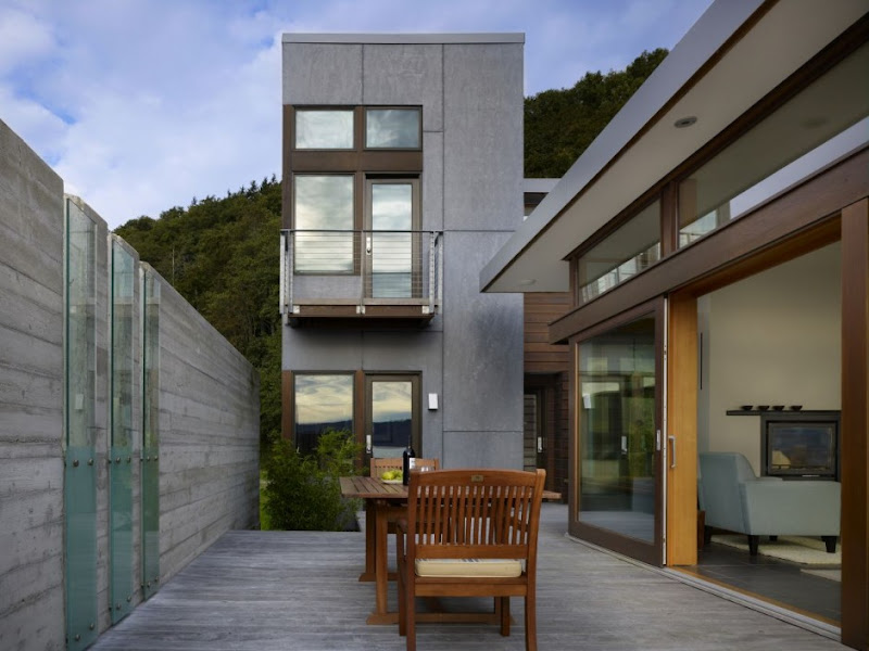 modern vacation retreat beach house design ideas