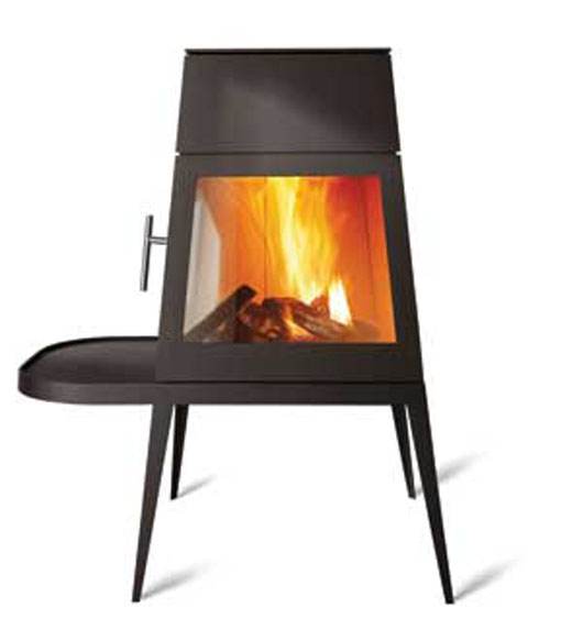 shaker stove traditional fireplace minimalist design