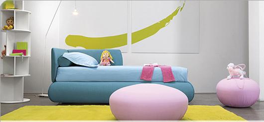 Thiết kế những chiếc giường đơn cho trẻ em