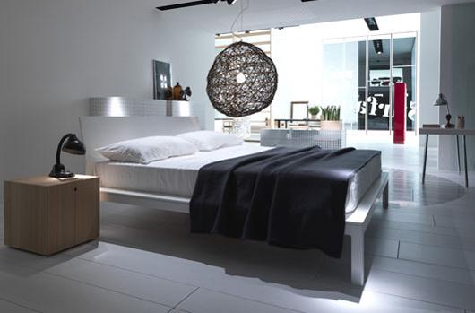 Simplicity Wooden Bedroom Furniture Design Home Interior