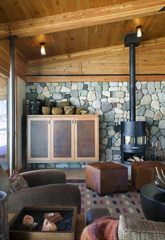 Sustainable Design Mountain Home Decorating Architecture Ideas ...