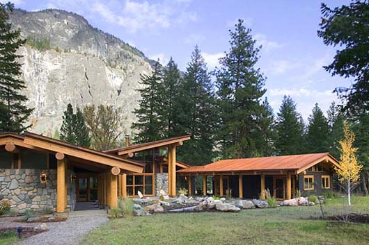 Small Cabin Design Cascade Mountain House Decorating