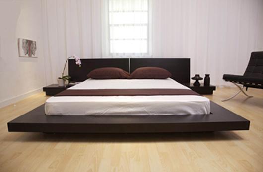 Modern Wooden Bed Design : Modern Wooden Platform Bed Design Bedroom Furniture - Home Gallery ...