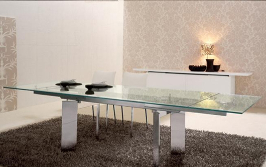 modern glass table design interior decorating