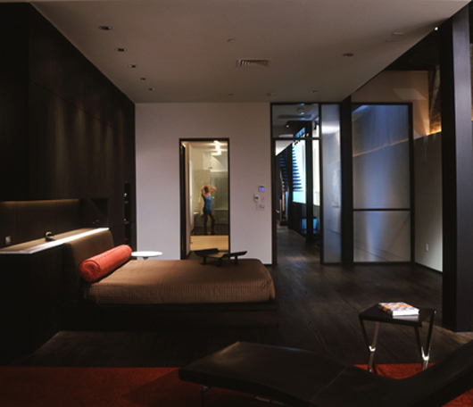 Townhouse Bedroom Interior Design : ... Decorating Architecture Urban Townhouse Design - Home Gallery Design