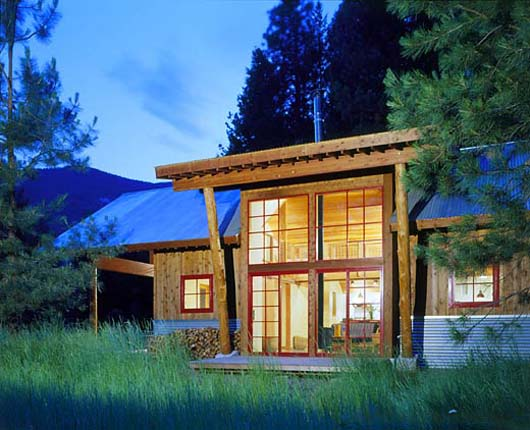 Simple Cabin Design Ideas Vacation Home Decorating Pictures