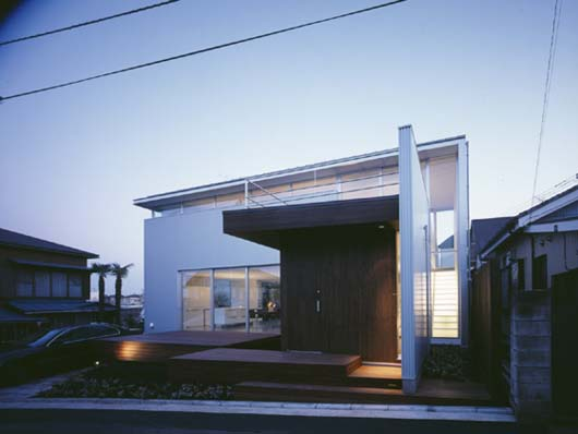 Modern Japanese House Design Architecture With Wood Structure