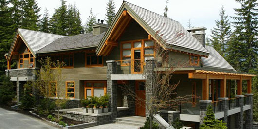 Modern home design architectural designs of mountain homes for Mountain style home plans