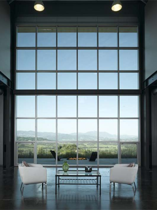 Glass window modern for Modern glass window design