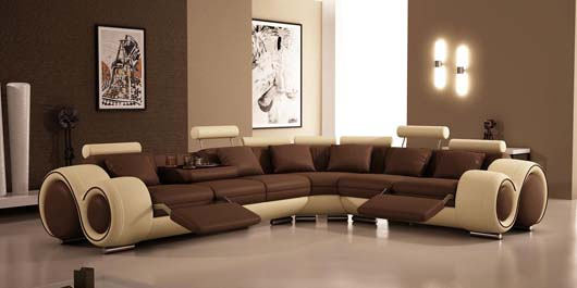 Contemporary Sectional Sofa Design Ideas Glamour Living Room Furniture