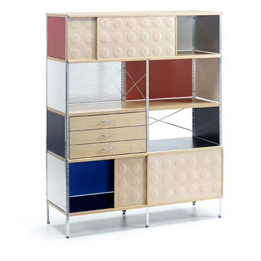 Storage Unit Decorating Bookcase With Height Adjustable Legs