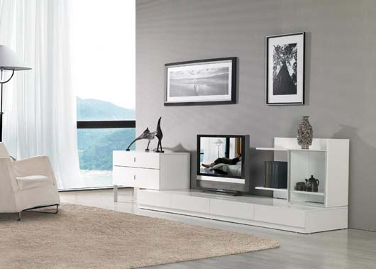 Modern Home Furniture Design For Entertainment Center Decorating ...