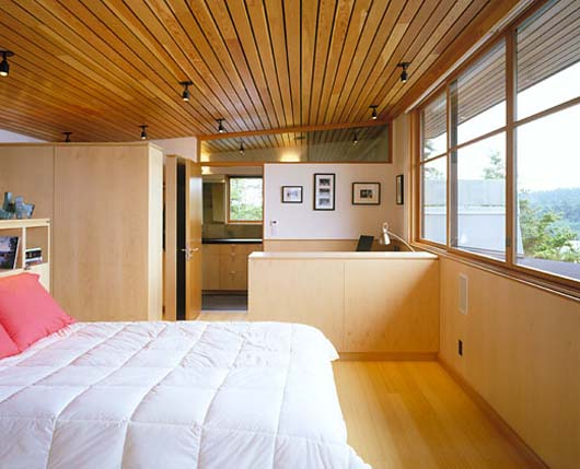 home interior design wooden bedroom decorating