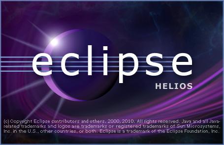 統合開発環境(IDE)Eclipseの起動画面