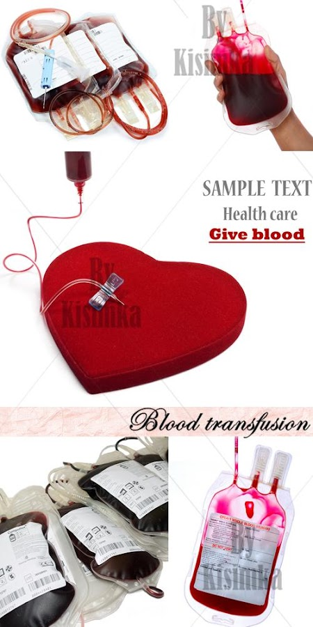 Stock Photo: Blood transfusion