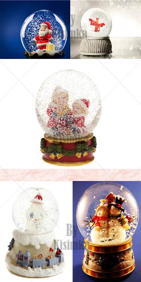 Stock Photo: Christmas Glass globe