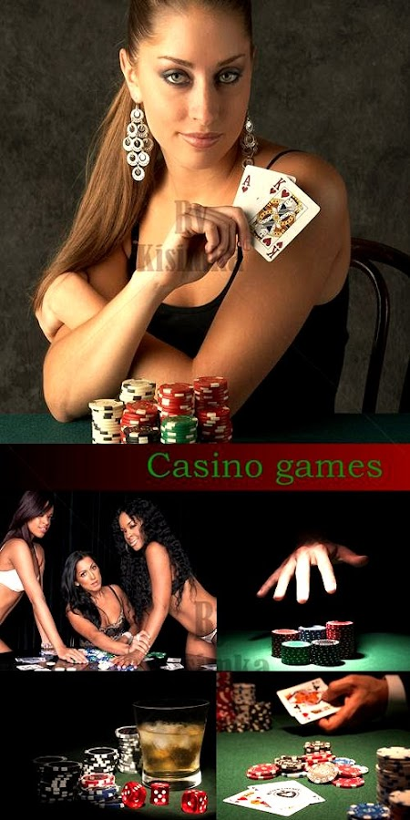 Stock Photo: Casino games