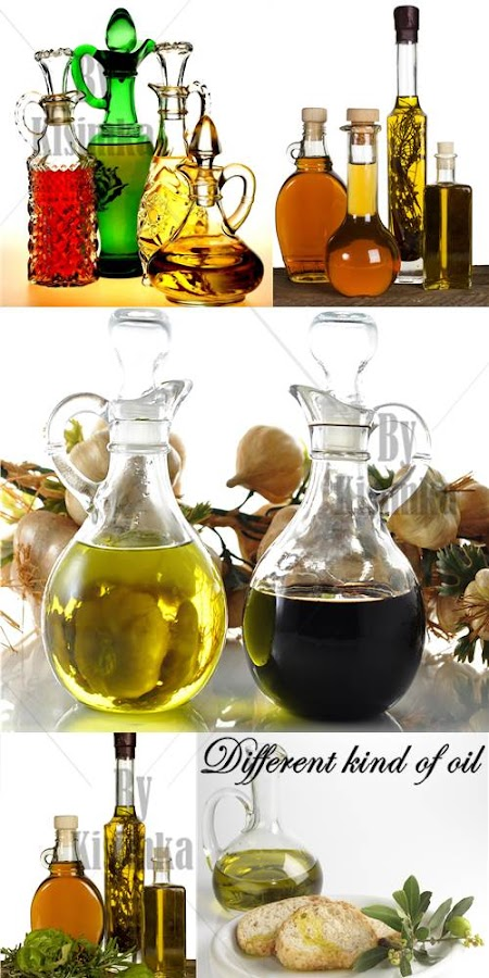 Stock Photo: Different kind of oil
