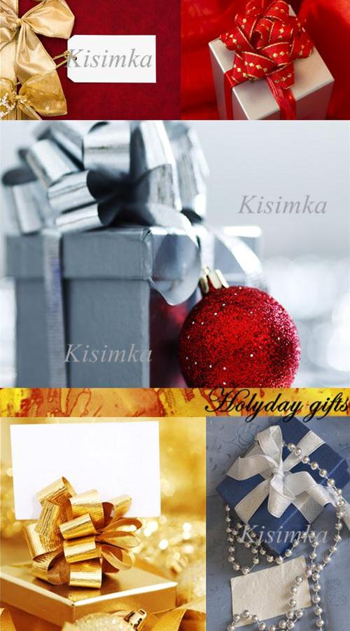 Stock Photo: Holyday gifts